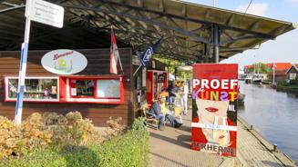 Het Kameleon botenstation - Informatiepunt Proef de Kunst - VVV